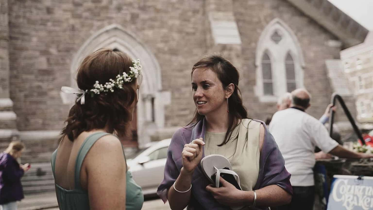 Brides maid hating