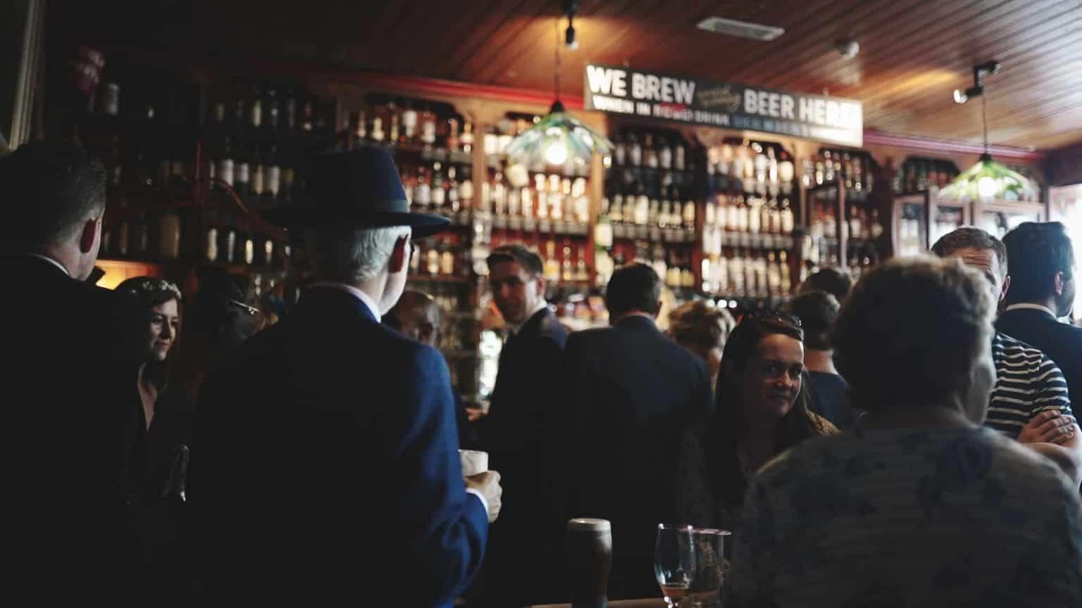 Dick Macks interior look at bar