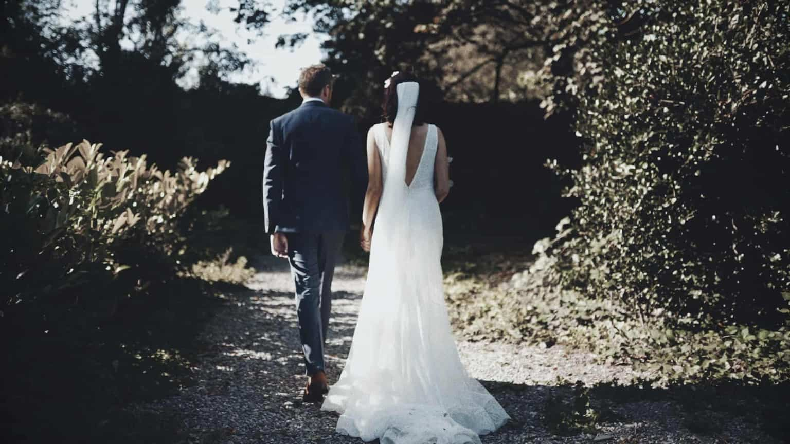 wedding photo is taking place in Cloughjordan