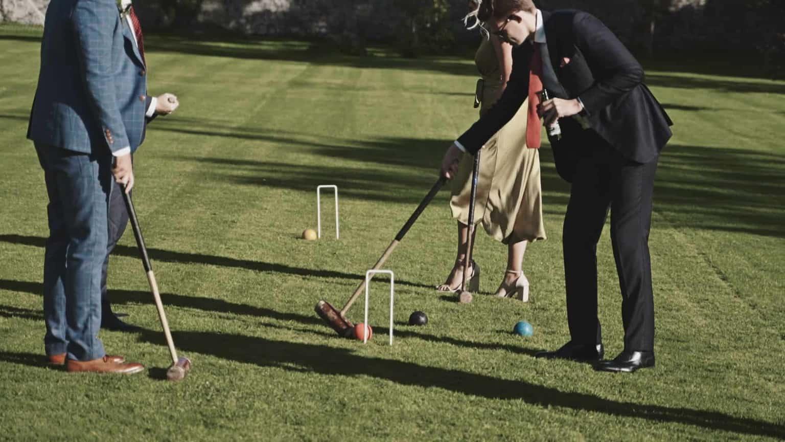 wedding guest activity in Cloughjordan