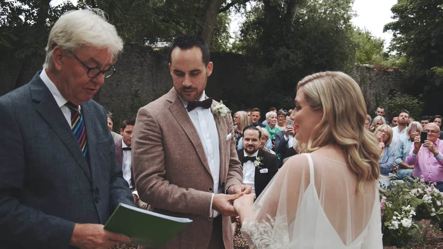 making vows in Cloughjordan House