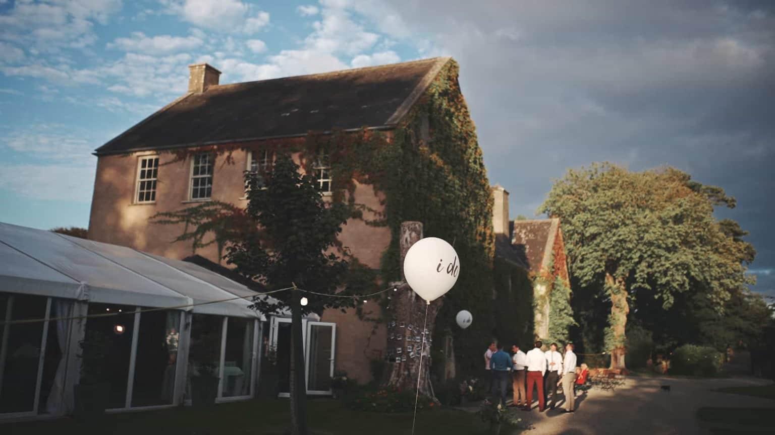 cloughjordan house outside decorations