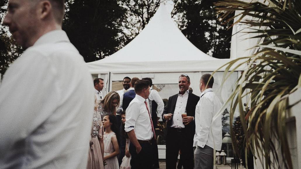 Marque wedding making people lough