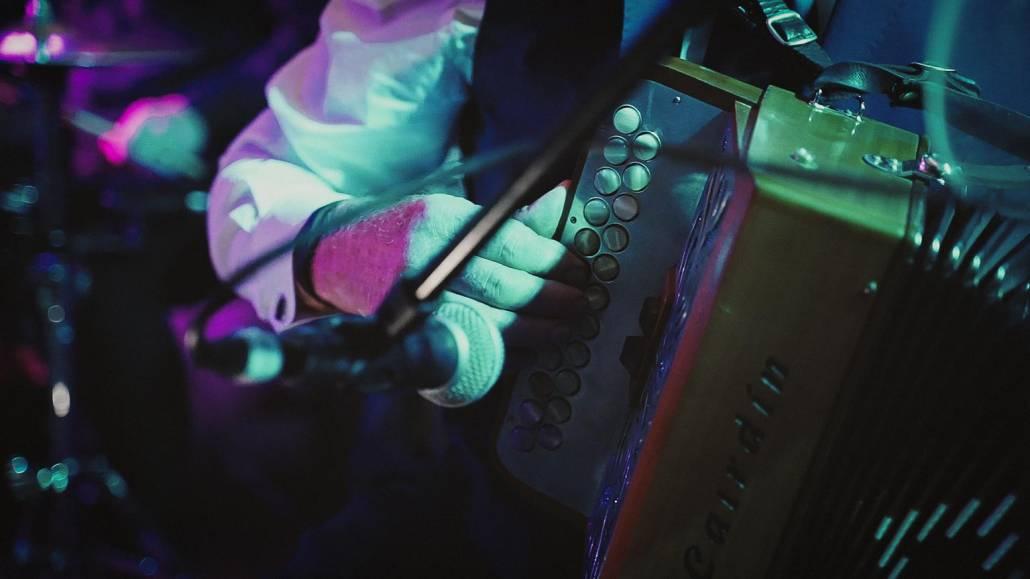 Irish accordion playing life music
