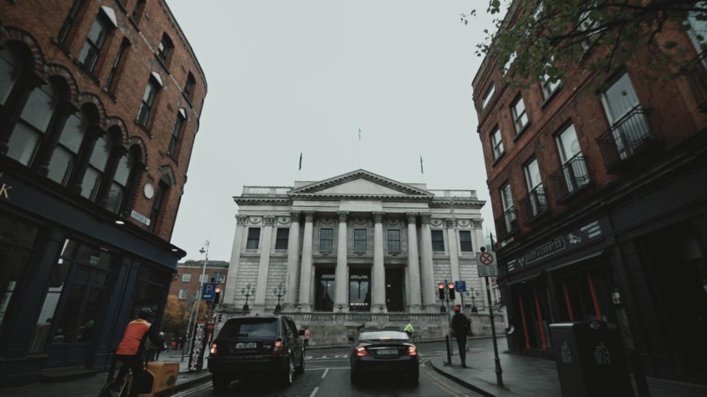 dublin city hall view