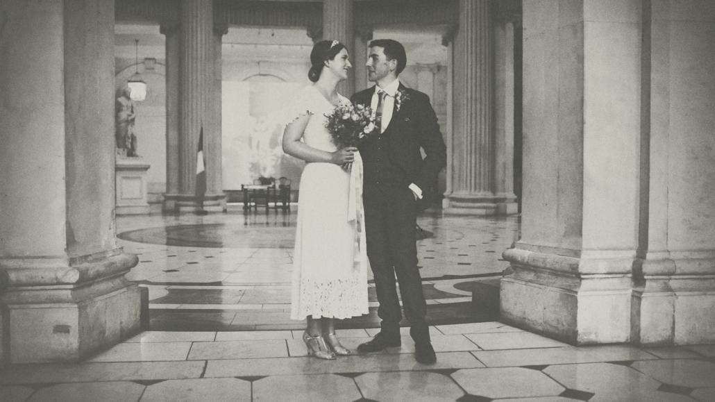 city hall wedding photo session