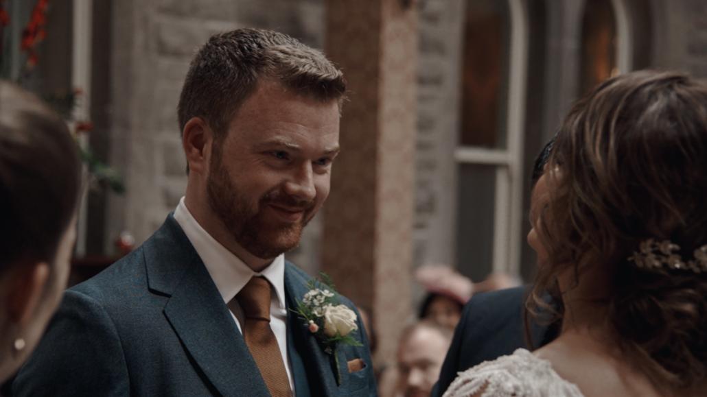 Daniel look in to Alison eyes.
