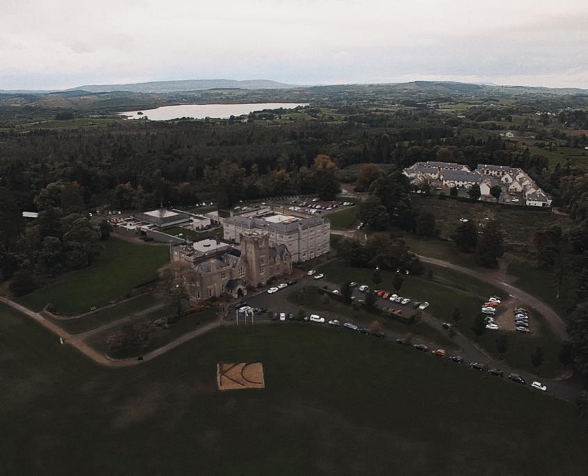 View at Kilronan Castle