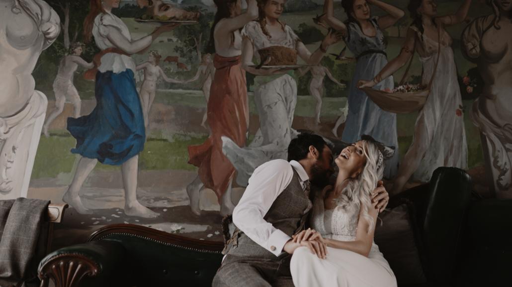 Loughcrew wedding photo