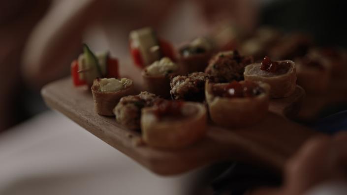 finger food in Loughcrew
